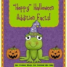 """Hoppy"" Halloween Addition Facts Sample Center"