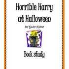 Horrible Harry at Halloween Questions and Vocabulary
