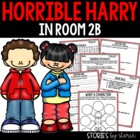 Horrible Harry in Room 2B - Comprehension Questions