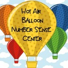Hot Air Balloon Number Sense Center