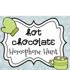 Hot Chocolate Homophone Hunt