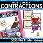 Hot Cocoa Contractions: A Common Core Aligned File Folder Game