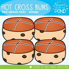 Hot Cross Buns - Graphics Clipart for Teaching Resources
