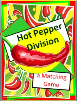 Hot Pepper Division- Matching Game