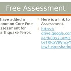 Houghton Mifflin 5th Grade theme 1 Earthquake Terror Vocabulary