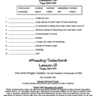 Houghton Mifflin Journeys: Lesson 12 Study Sheet (Grade 4)