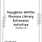 Houghton Mifflin Phonics Library Extension Activities First Grade