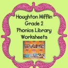 Houghton Mifflin Phonics Reader Worksheets Themes 1-6  Grade 2