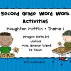 Houghton Mifflin Theme 1 Second Grade Word Work