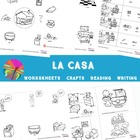 House Spanish Lesson Complete Set (2, 3 & 4s) - La casa