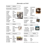 House Vocabulary List (Spanish)