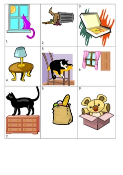 House and Home Prepositions FRENCH