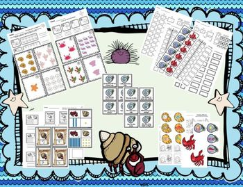 House for Hermit Crab:  Math and Literacy Activities