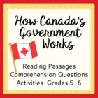 How Canada's Government Works (Grades 5-6)