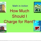 How Does Price Affect Apartment Rentals?:The Algebra Lab Manual