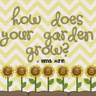 How Does Your Garden Grow? Addition Game