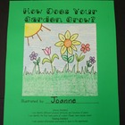 How Does Your Garden Grow? Theme Book
