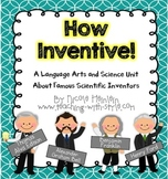 Famous Inventor Science and ELA Unit
