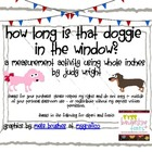 How Long is that Doggy in the Window?  Measurement to the Inch