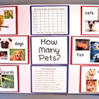 How Many Pets? (Bar Graph Activity & Poster/Bulletin Board)