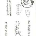 How Pumpkins Grow- a non-fiction guided reading book