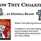 How They Croaked, by G. Bragg, Research Biography Template