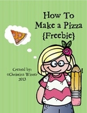 How To Make a Pizza {Procedural writing} Freebie!!