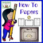 How-To Papers &amp; Helpers