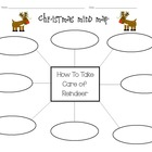 """How To Take Care Of A Reindeer"" Mind Map Activity"