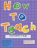 How To Teach Reading To Your Students!