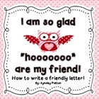 How To Write a Friendly Letter- Valentine&#039;s Day Theme
