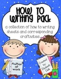 How-To Writing Pack