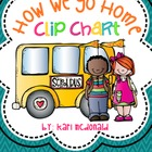 How We Go Home Clip Chart: A Classroom Management Dismissal Tool