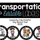 How We Go Home {transportation cards}