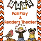 Fall Play, Poem, and Literacy Activities