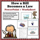 How a Bill Becomes a Law Interactive Powerpoint + Printabl