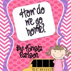 How do we go home? Chart (Bilingual)