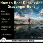 &quot;How to Beat Stress and Depression&quot; Scavenger Hunt for Teens
