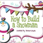 How to Build a Snowman ActivInspire Flipchart Sequencing a