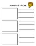 How to Catch a Turkey Writing Organizer