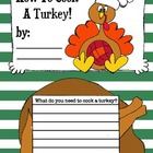 Turkey Mini Book {How to Cook a Turkey!}