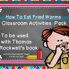 How to Eat Fried Worms Activity Pack