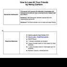 How to Lose All Your Friends lesson plan