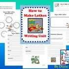 How to Make Latkes Writing Unit