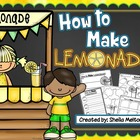 How to Make Lemonade! {Writing resources, graphic organize