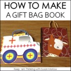 How to Make a Gift Bag Book