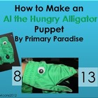 How to Make an Alligator Puppet (Greater than/LessThan)