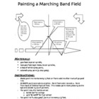 How to Paint a Marching Band Field