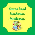 How to Read Nonfiction Minilesson