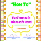 How to Use Frames in Microsoft Word